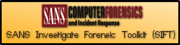 SANS FORENSICS SIFT Workstation