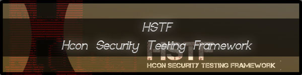 HSTF Hcon Security Testing Framework
