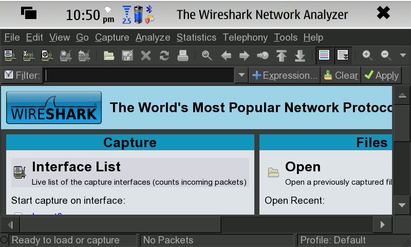 Wireshark For N900