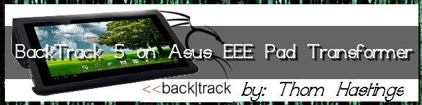 Backtrack | Zer0Byte