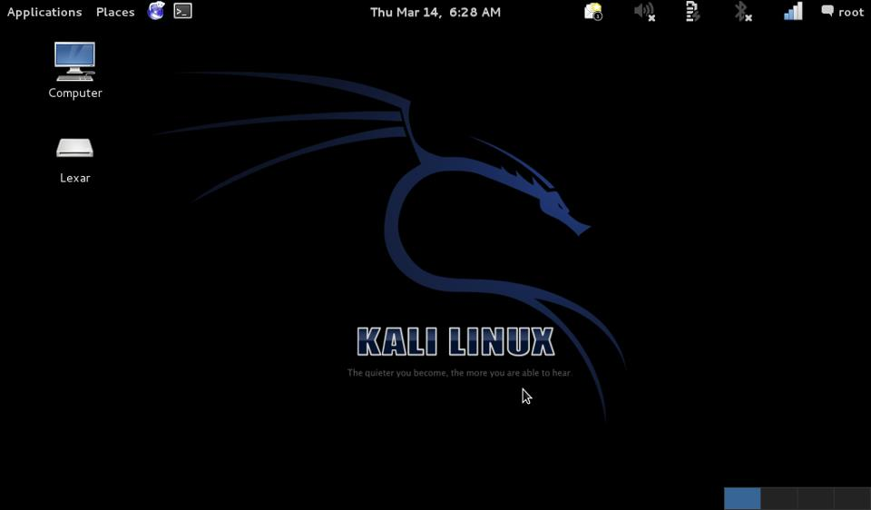 Kali Linux Complete Tools List And Installation Screen